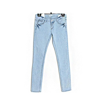 [used] scratch slim jean
