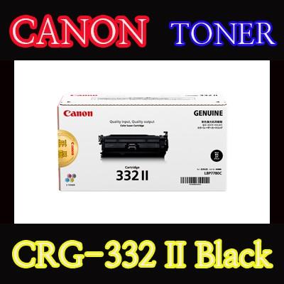 캐논(CANON) 토너 CRG-332 II / Black / 대용량 / CRG332 II / Cartridge332 II / LBP7780CX / LBP7784CX / LBP7786CX