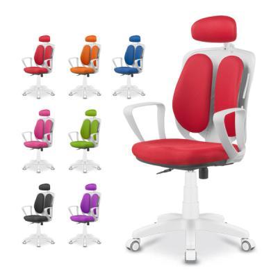 [더컴포트] 렉시 화이트 의자 LX-W2700