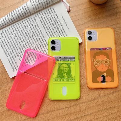카드 네온 케이스(아이폰11프로맥스)