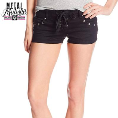 VICES DENIM SHORT (BLACK)
