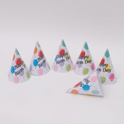 파티고깔모자 생일풍선(6개입)
