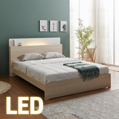 홈쇼핑 LED 침대 Q (양면스프링매트) KC198