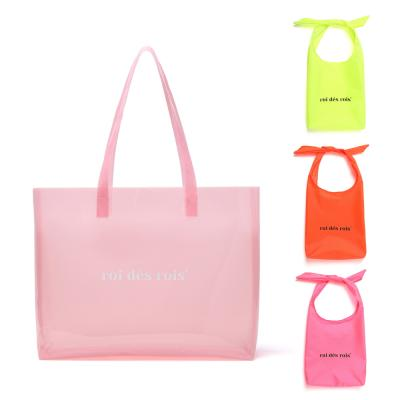 익스포져 비치 PVC 숄더백 (핑크)