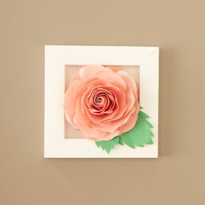 [톰텐] 페이퍼플라워 핑크장미