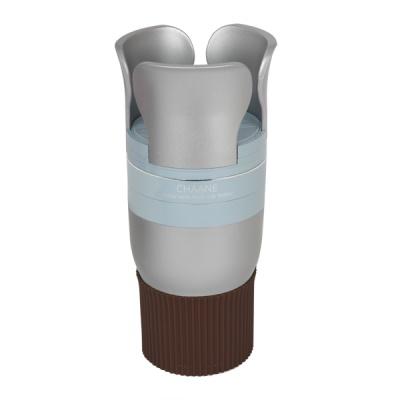 [차아네] 6단 와이드 컵홀더 실버 CHA-6WSI