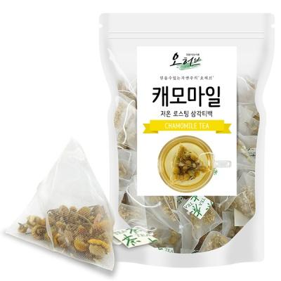 캐모마일차 캐모마일 25개입 삼각티백차 식수
