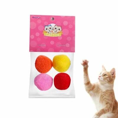 고양이장난감 스노우볼 뽀드득 캣토이(4p 색상랜덤)