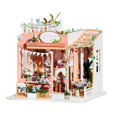 [adico]DIY 미니어처 하우스 - 안개꽃 하우스