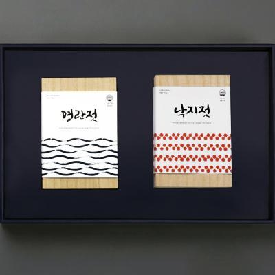 해성젓갈 3-3호 선물세트 (명란500g+낙지500g)