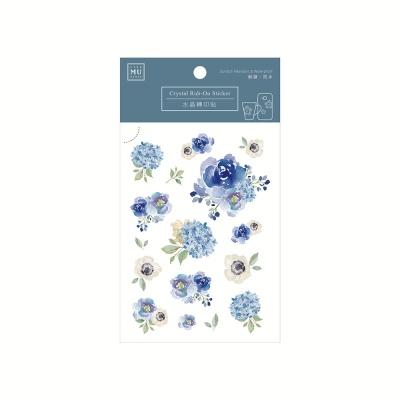 Miccudo 크리스탈 럽 온 스티커 - 03