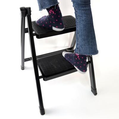 키 높이 발판 접이식 미니 간이 사다리 가정용 주방 씽크대 2단 계단