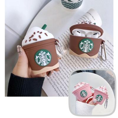 에어팟1 2 3 프로 별다방 커피 실리콘케이스 키링세트