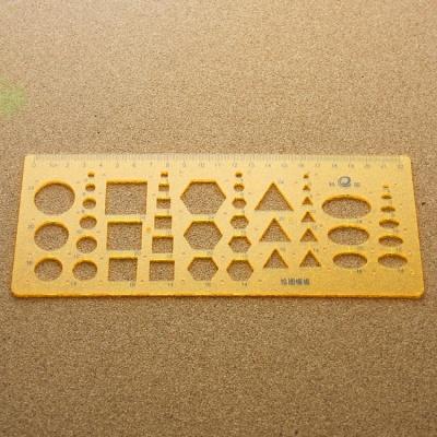 종합 도형자 / 플라스틱 모양자