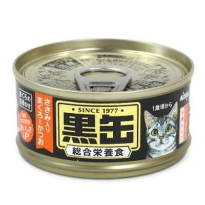 고양이 간식 캔 통조림 닭가슴살 참치 가다랑어 80g