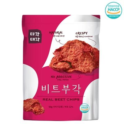 [속초명물] 바삭바삭 은근한 단맛 비트 부각 60gx3개