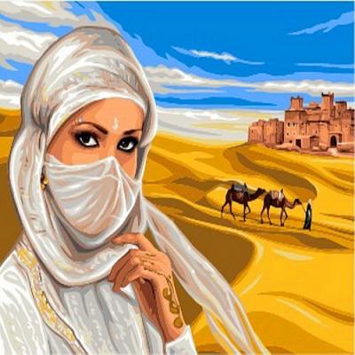 [DIY명화]B951 사막의여인 size 50*40cm