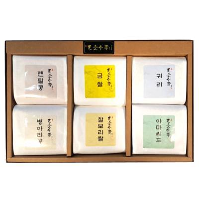 선물세트 웰빙6종세트