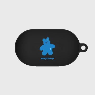 Color bear-black(buds jelly case)