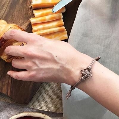 전통 매듭 팔찌 DIY 키트 - 가을색상