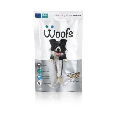 (영국산) Woofs 드라이 스프래츠 (청어) 125g (in)