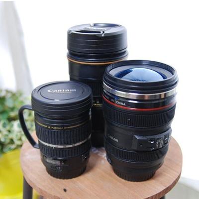 인테리어 소품 카메라 렌즈 디자인 스텐 텀블러