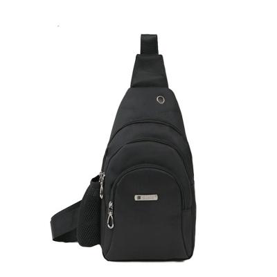 여행용 물병포켓 보조 가방 데일리 패션 슬링백 블랙