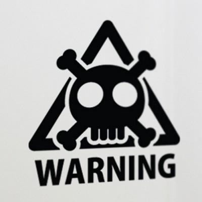 [아빠곰스티커]경고