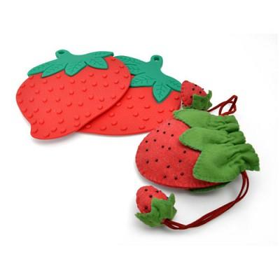 [빠띠라인] 실리콘 딸기냄비받침 MT-304