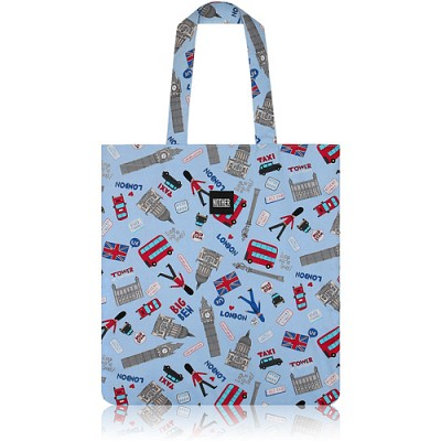 nother London Collection Flat Tote Bag (Britain) / 나더 런던 컬렉션 플랫 토트백