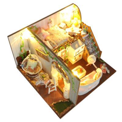 [adico]DIY 미니어처 하우스 - 플라워 하우스