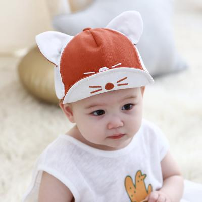 메쉬 냐옹이 아기 캡모자(46-50cm) 204168