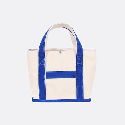 CHOU CHOU TOTE BAG Ecru-blue