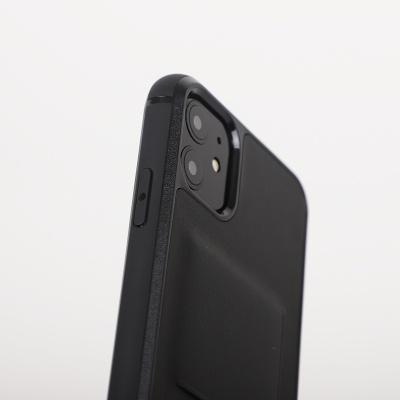 아이폰11 시리즈 가죽 케이스 블랙
