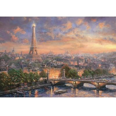 1000조각 / 직소퍼즐 / 파리의도시(1336)