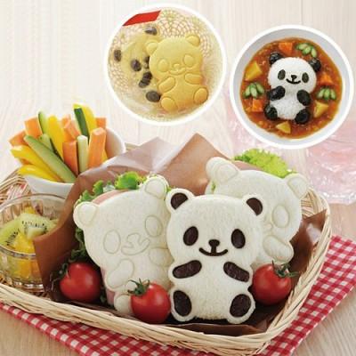 아기팬더(카레밥 식빵 쿠키 주먹밥)틀