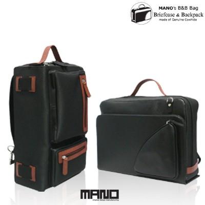 마노 B&B Bag 블랙 (서류가방 겸용 백팩)