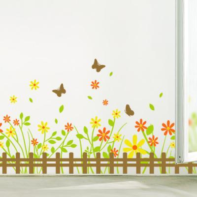 ii797-꽃들의나비정원(2톤)_그래픽스티커