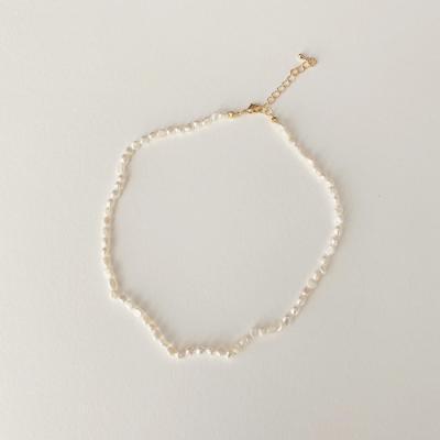 Pretty Pearl Necklace - 담수진주