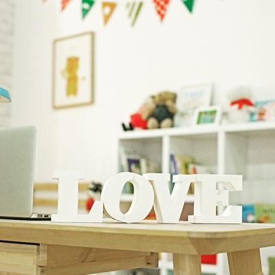 [톰텐]인테리어소품 DIY 이니셜 LOVE