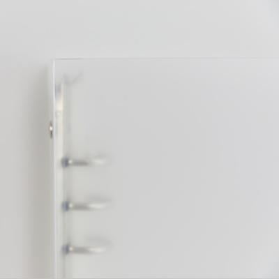컴파운드 6공 무지 커버 (A5 바인더)