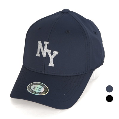 [디꾸보]글리터 NY 투 사이즈 볼캡 야구모자 AC610