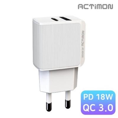 엑티몬 PD18W C타입 가정용급속고속충전기