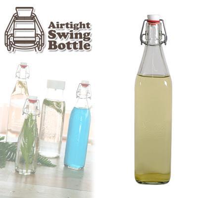 [실리쿡]밀폐유리용기 스윙보틀 swingbottle 800ml