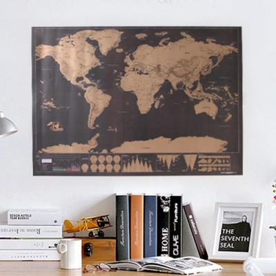 DIY 스크래치 세계지도 - 독도는 우리땅 에디션
