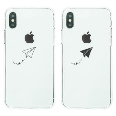 아이폰8케이스 종이비행기 소프트젤리케이스