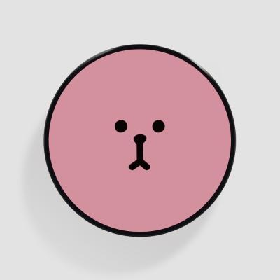 Tok 복실 얼굴 핑크