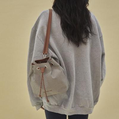 10/17[펀프롬펀]Carrie 2way check backpack (camel)