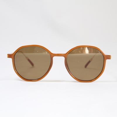 동그란 쁠테 선글라스 (브라운)