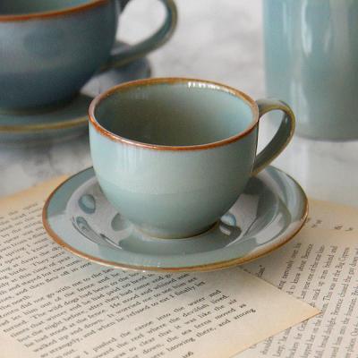 포홈 엔틱 도자기 에스프레소 커피잔 세트 180ml